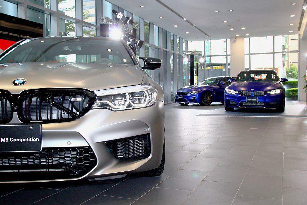BMW M Power三大知名性能作品M3 CS、M4 CS以及M5 Compe...