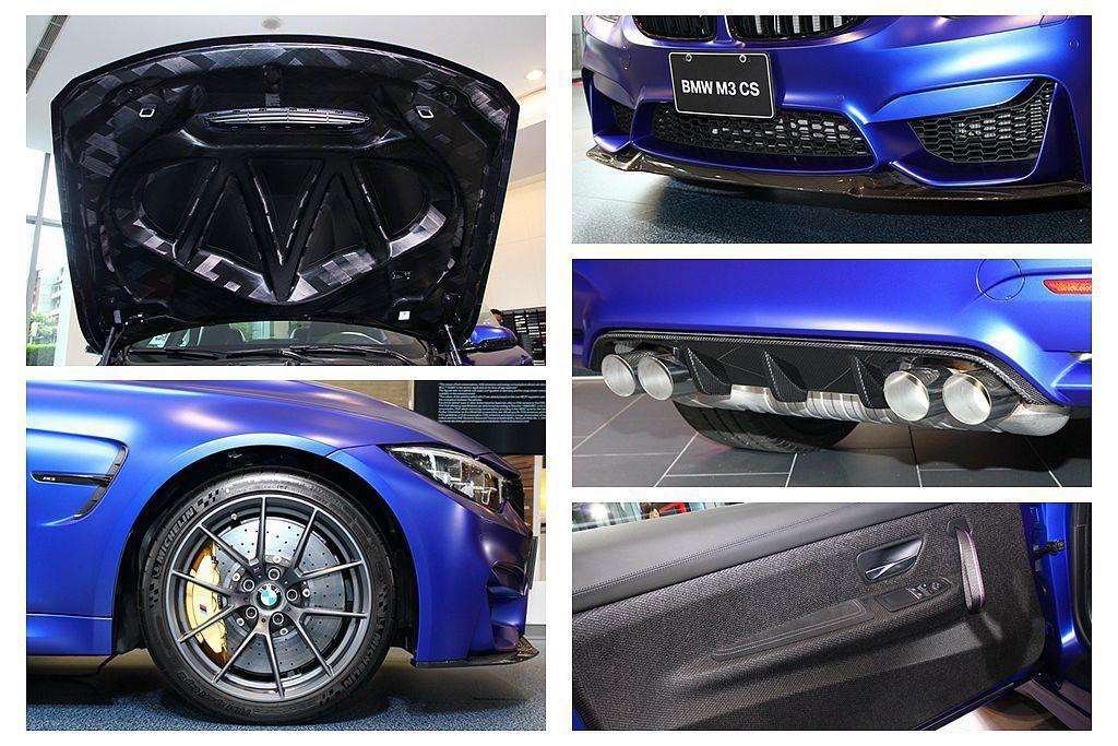 BMW M3 CS、M4 CS強化Competition Package競技化套...