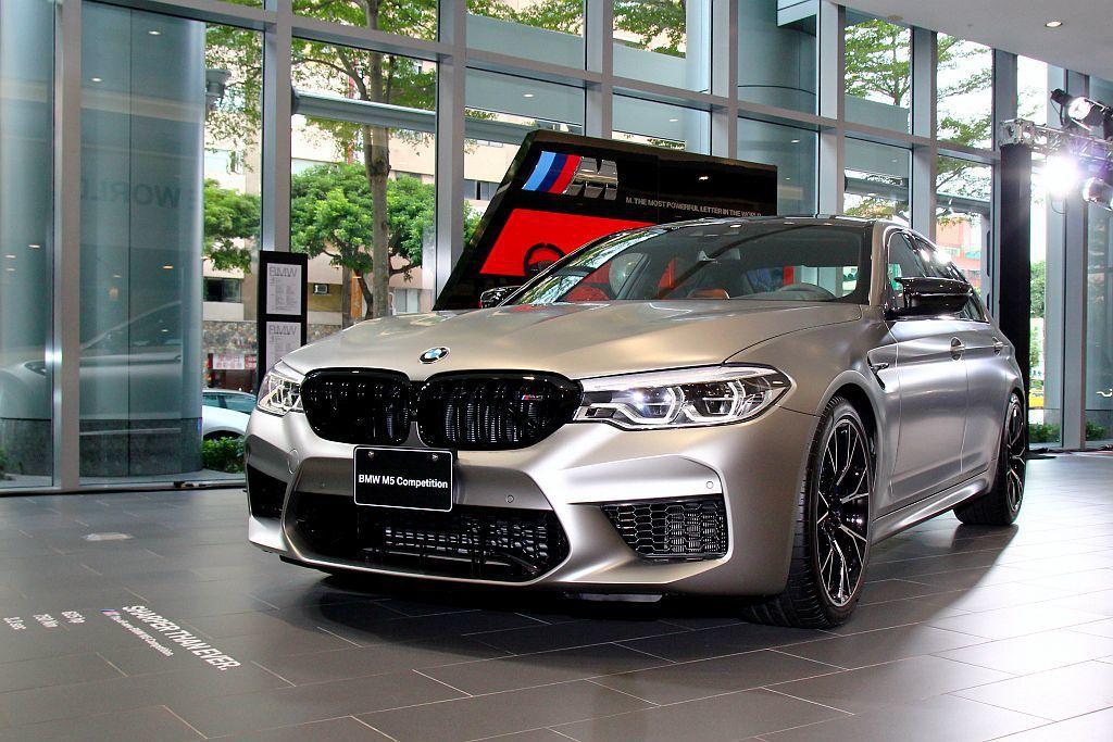 今年5月國外才正式亮相的BMW M5 Competition,據悉台灣已經接獲近...