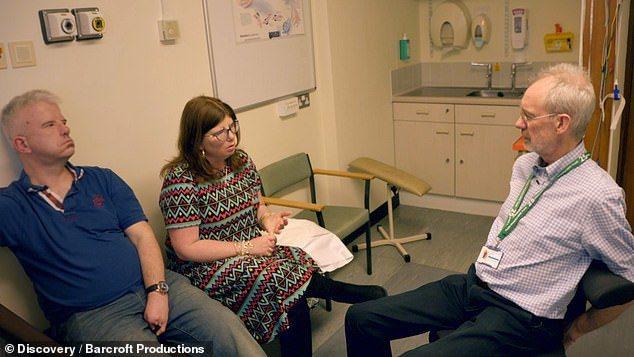 兩人近日也找了專家諮詢,害怕孩子也會遺傳到牟比士症候群。圖片來源/每日郵報