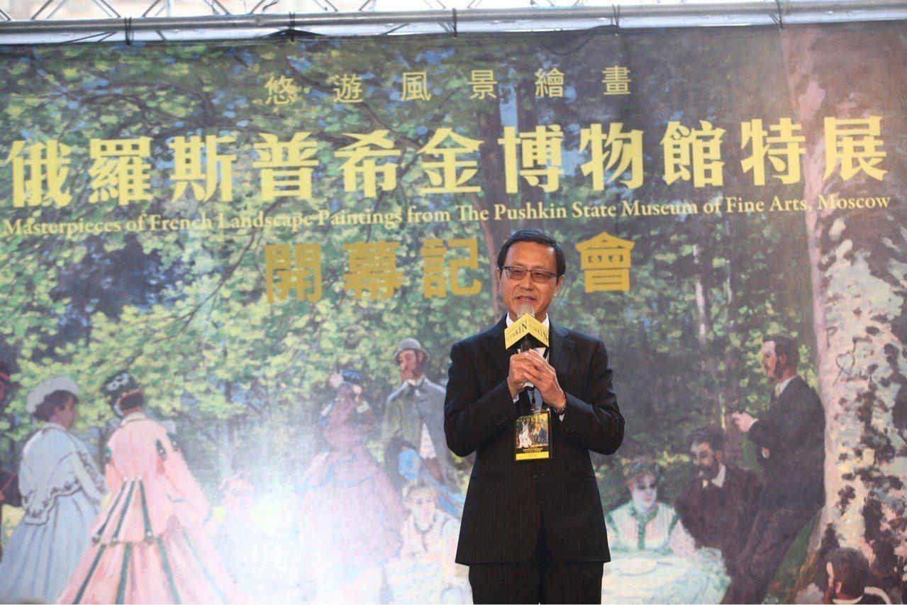 中國信託銀行總經理陳佳文表示,中國信託長期贊助藝文展演活動,多次與知名策展單位共...