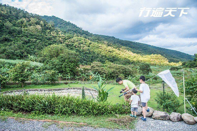 大小朋友一起探索園區動植物生態  攝影|行遍天下