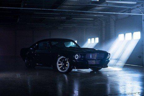 影/充電的Mustang野馬3秒就衝過100km/h!