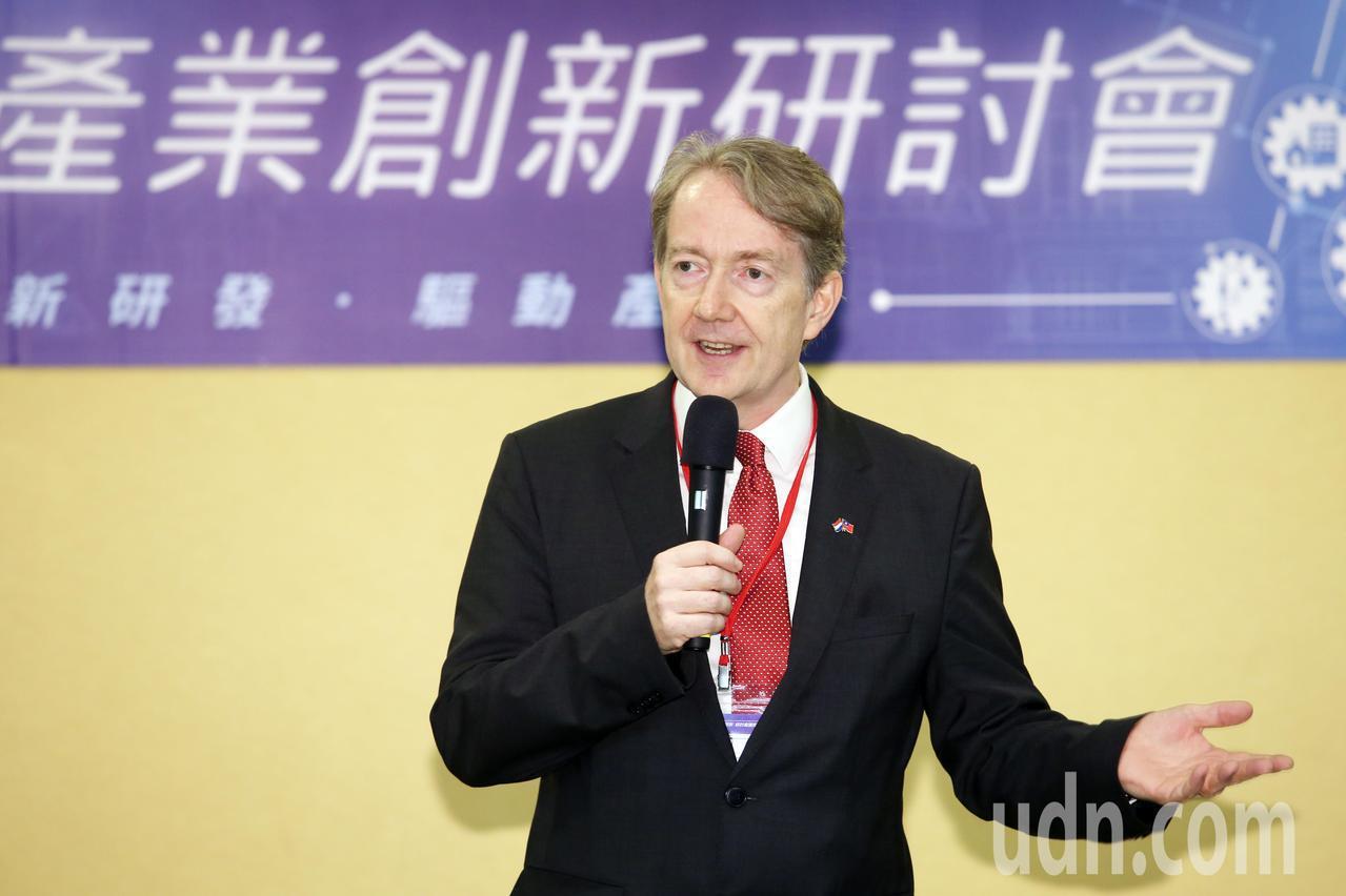 荷蘭貿易暨投資辦事處駐台代表紀維德大使。記者杜建重/攝影
