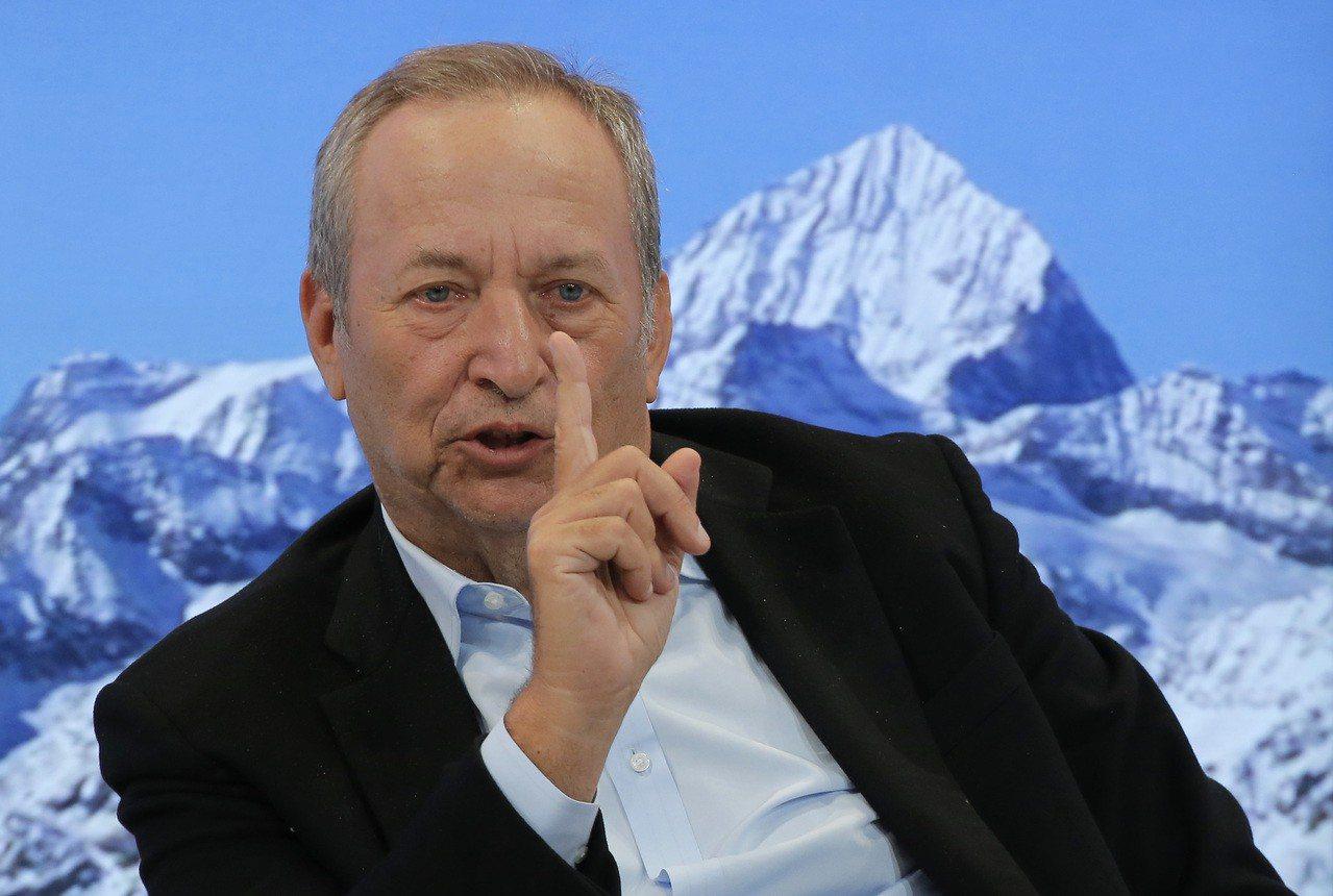 美國前財長桑默斯(Larry Summers)認為,美國在兩年內陷入經濟衰退的機...