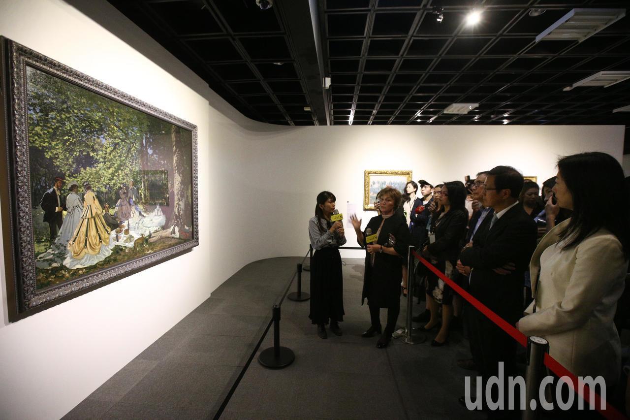 俄羅斯普希金博物館副館長 Tatyana Potapova 親自解說莫內《草地上...