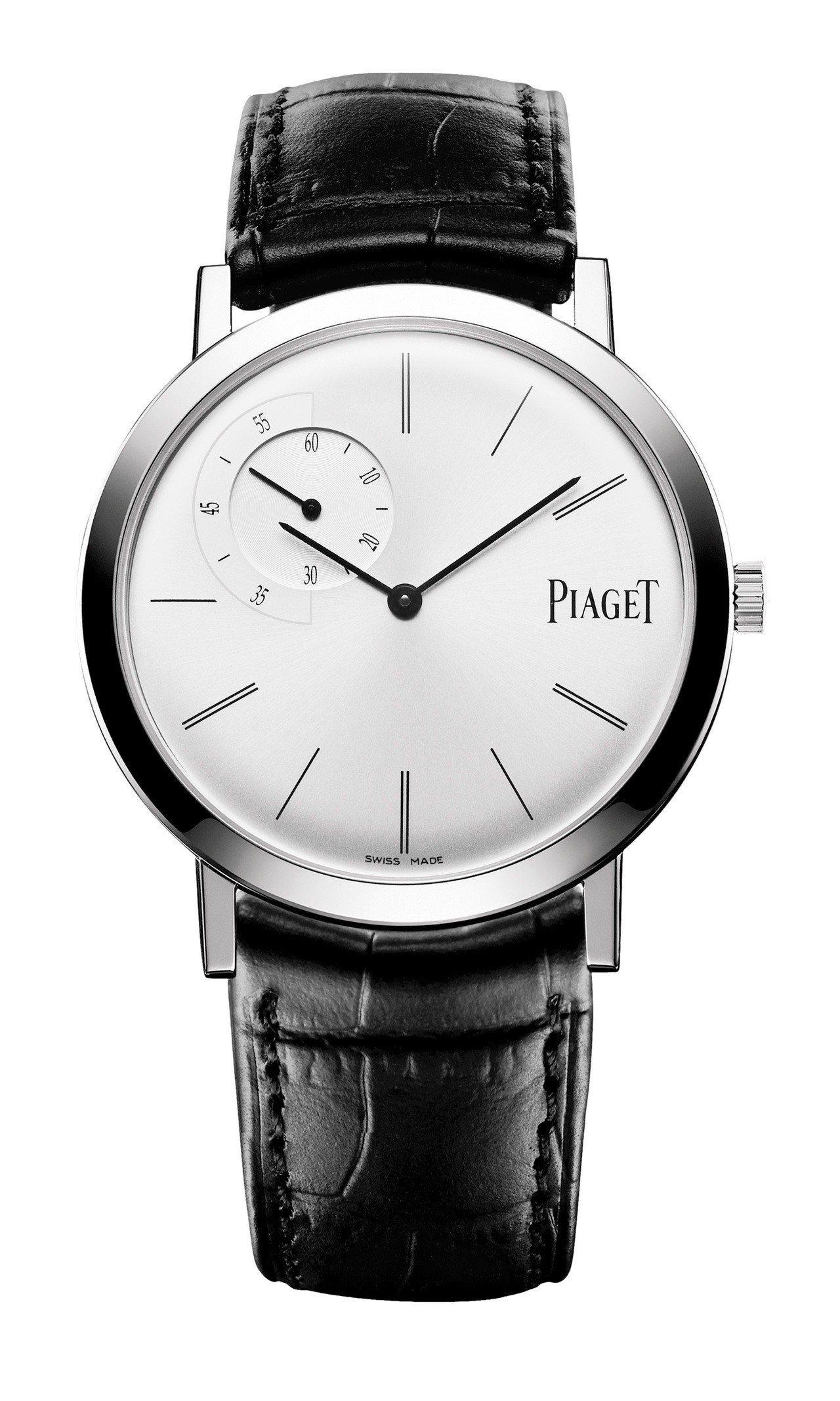 胡歌配戴的Altiplano超薄腕表,售價59萬5,000元。圖/伯爵提供