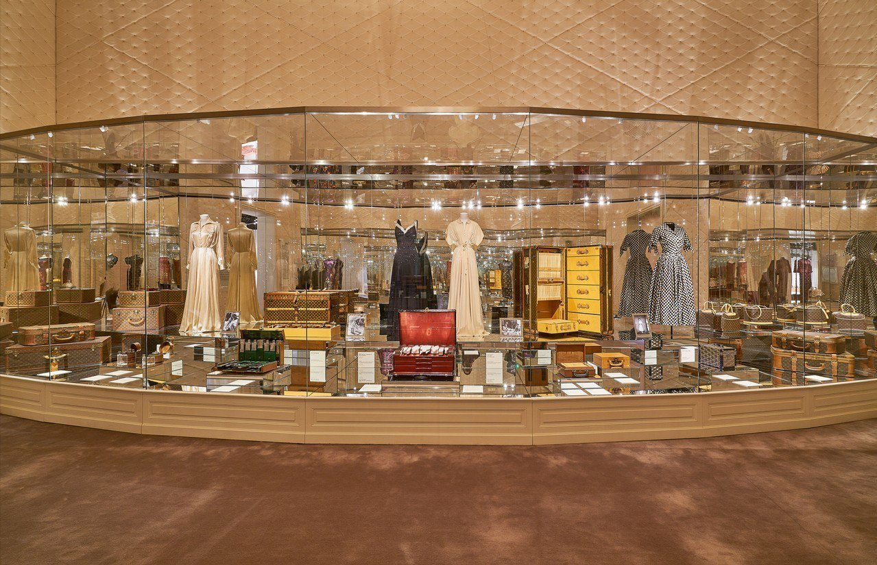 大器奢華的路易威登「飛行、航行、旅行」特展今起於上海展出。圖/LV提供