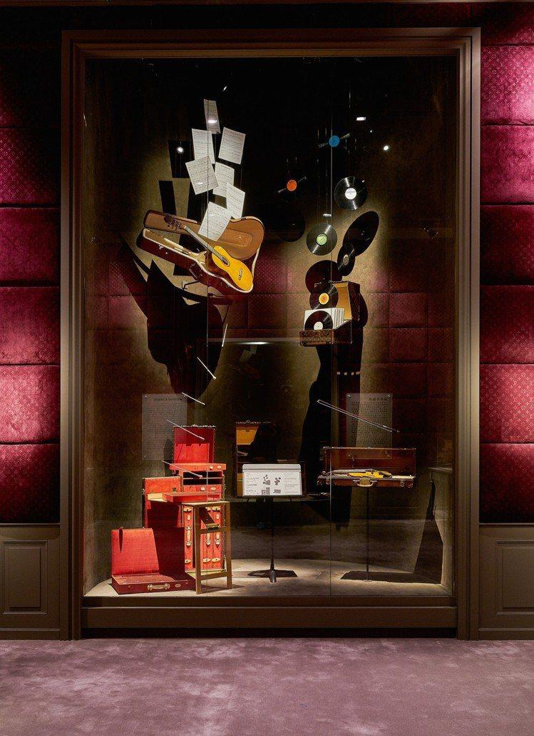 以藝術品味打造的路易威登「飛行、航行、旅行」特展相當值得一看。圖/LV提供
