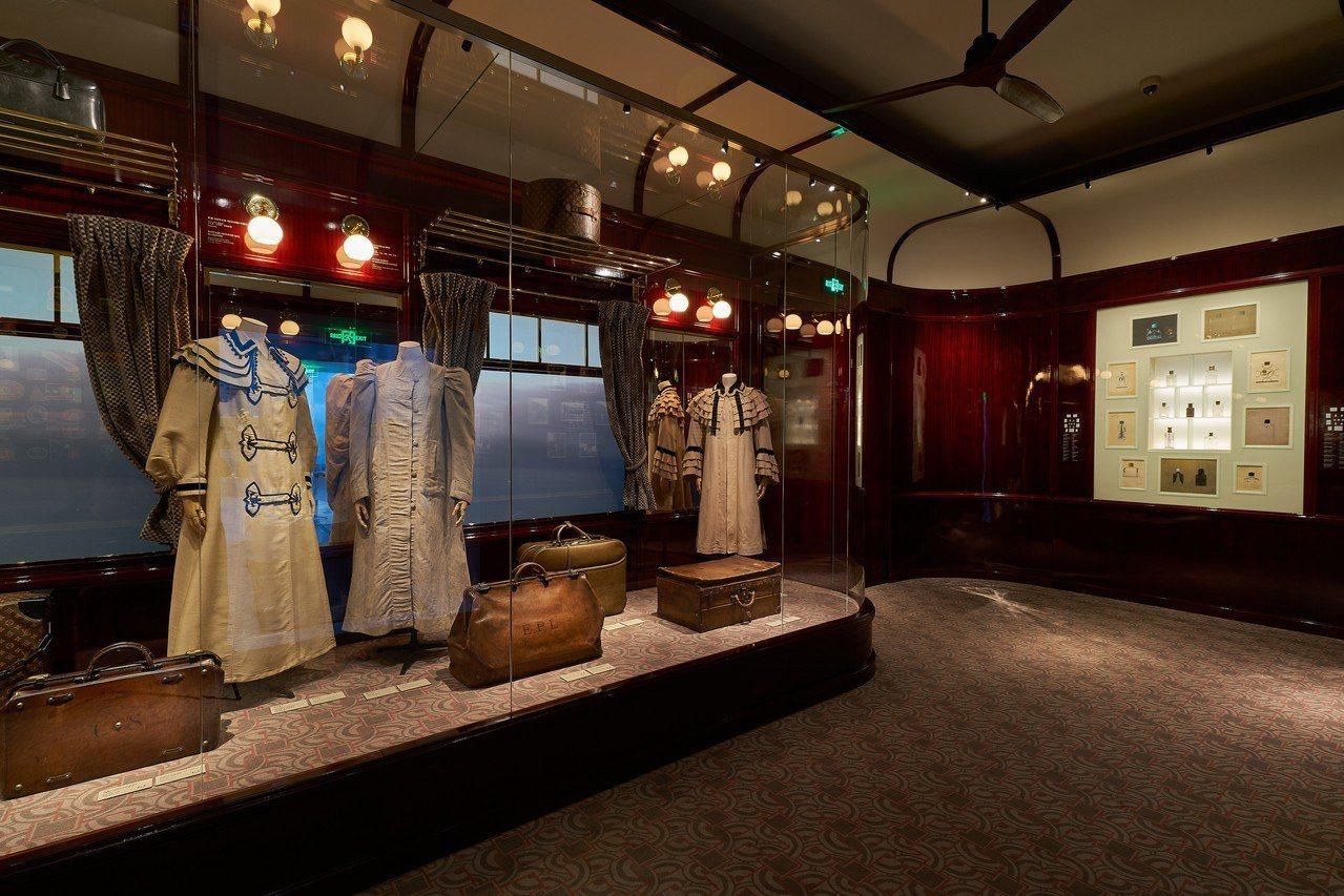 曾於2015年在巴黎大皇宮展出的「火車」主題展廳。圖/LV提供