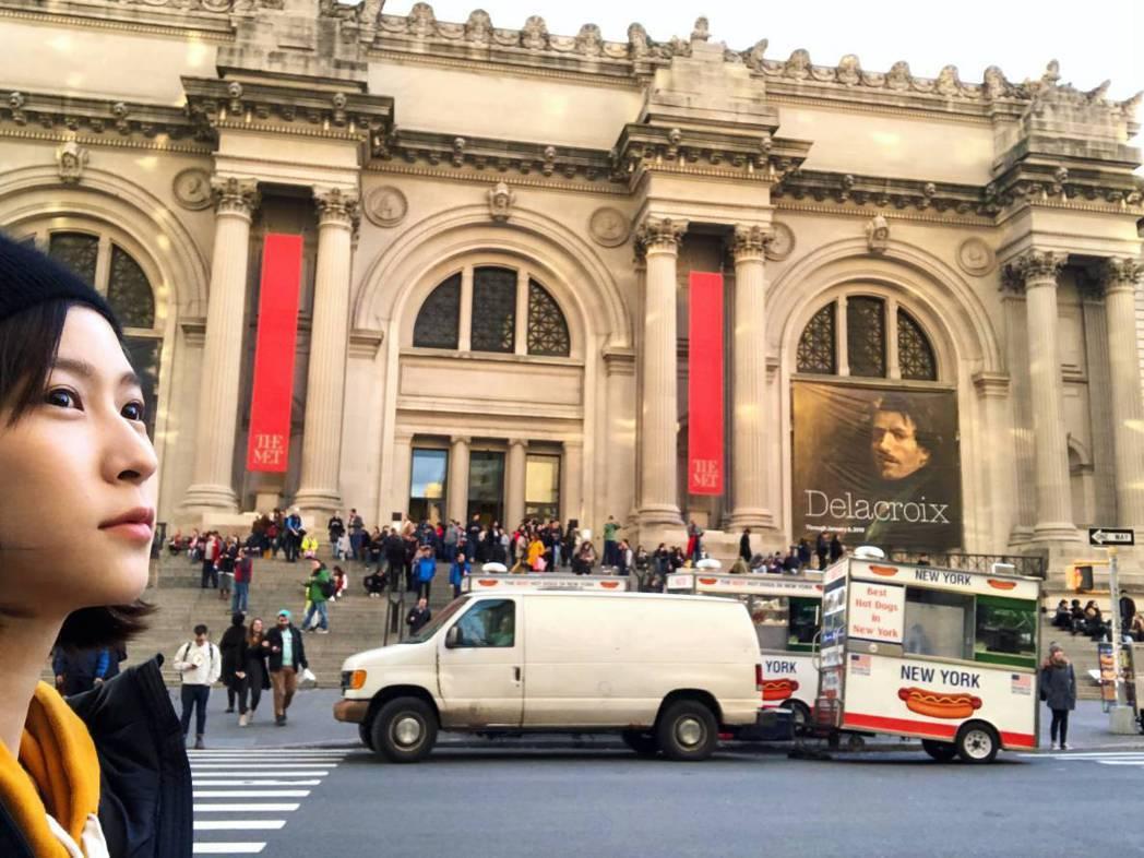江沂宸到紐約參觀很多博物館、看很多表演。圖/江沂宸提供