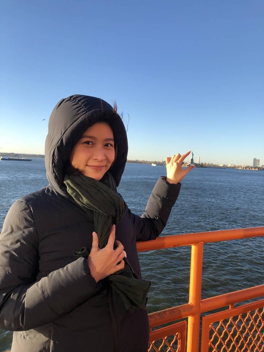 江沂宸到紐約度假。圖/江沂宸提供