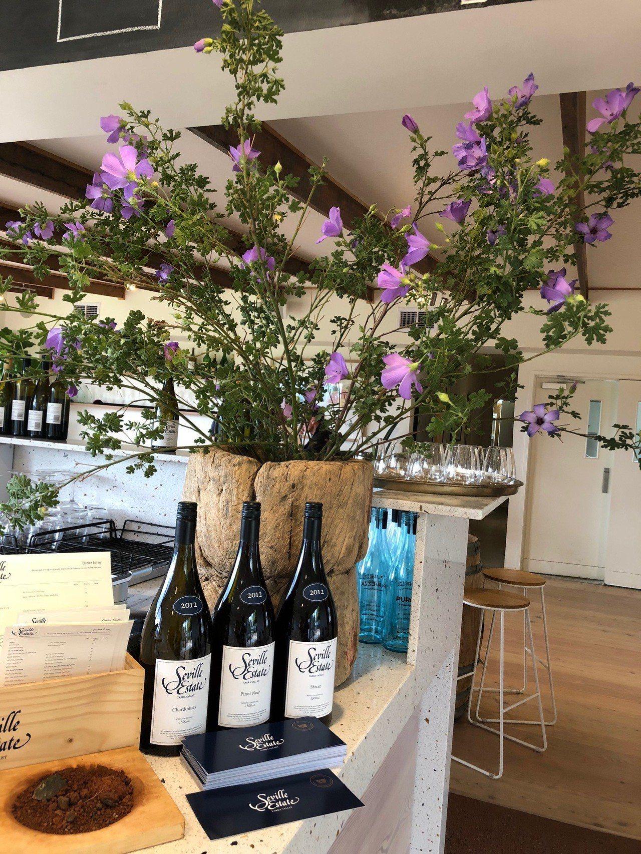 Seville Estate被評選為2018年度最佳酒莊。記者錢欽青攝影。 ※...