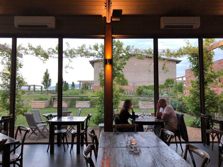 Meletos酒莊有如Kinfolk經典文青風格般的空間與美感。圖/記者錢欽青攝...