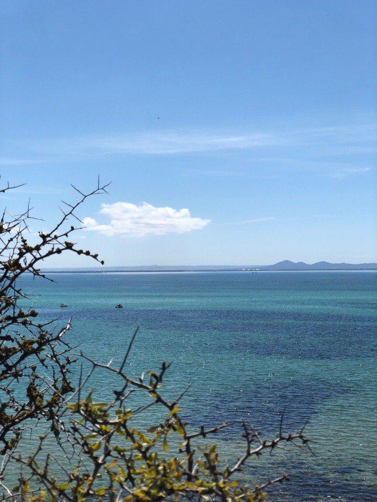 Terindah Estate擁有驚人美麗的私人海灘與奢華露營地。圖/記者錢欽青...
