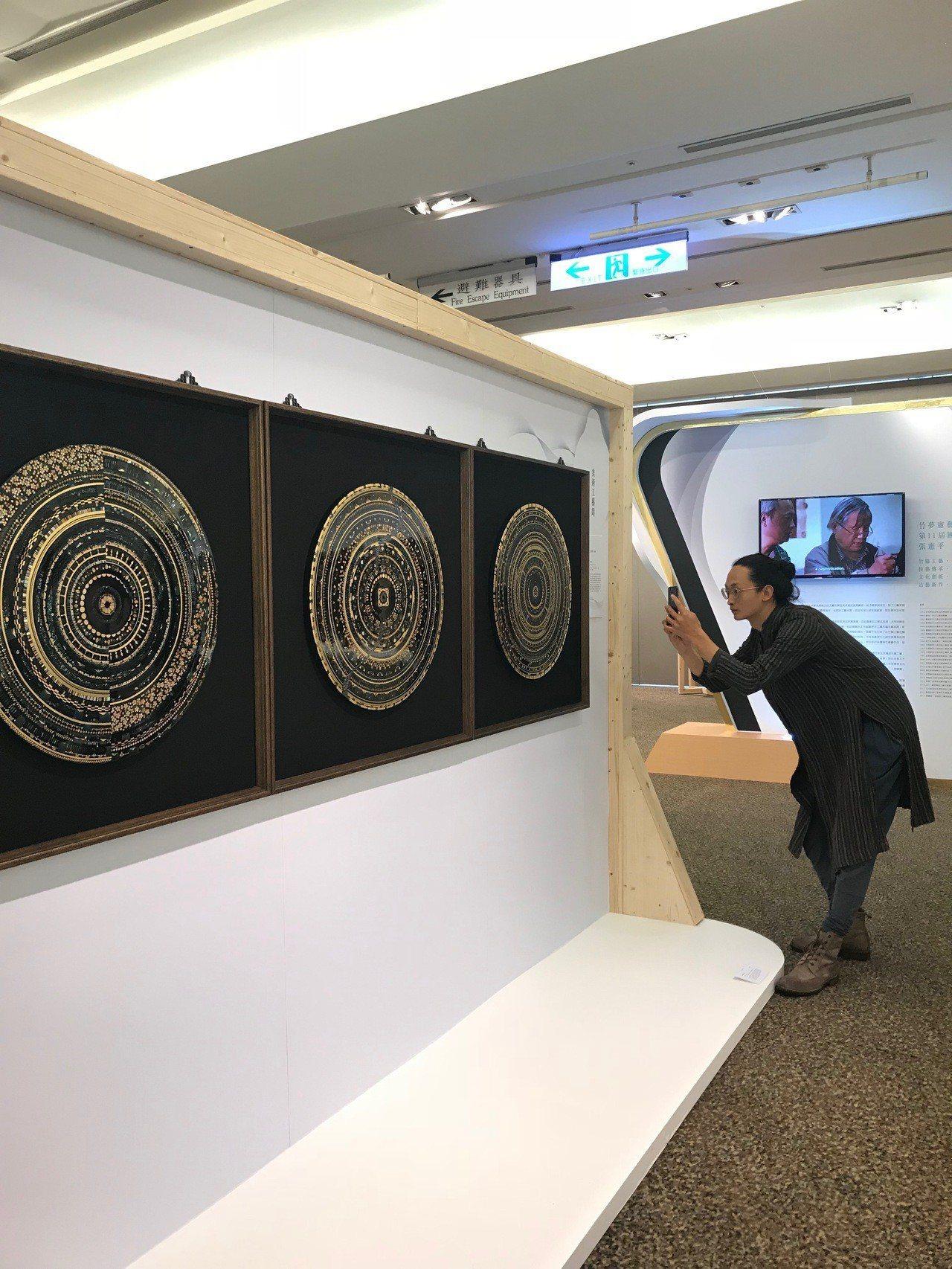 2018工藝之夢展出作品。記者江佩君/攝影