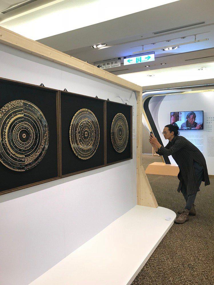 2018工藝之夢展出作品。圖/記者江佩君攝影