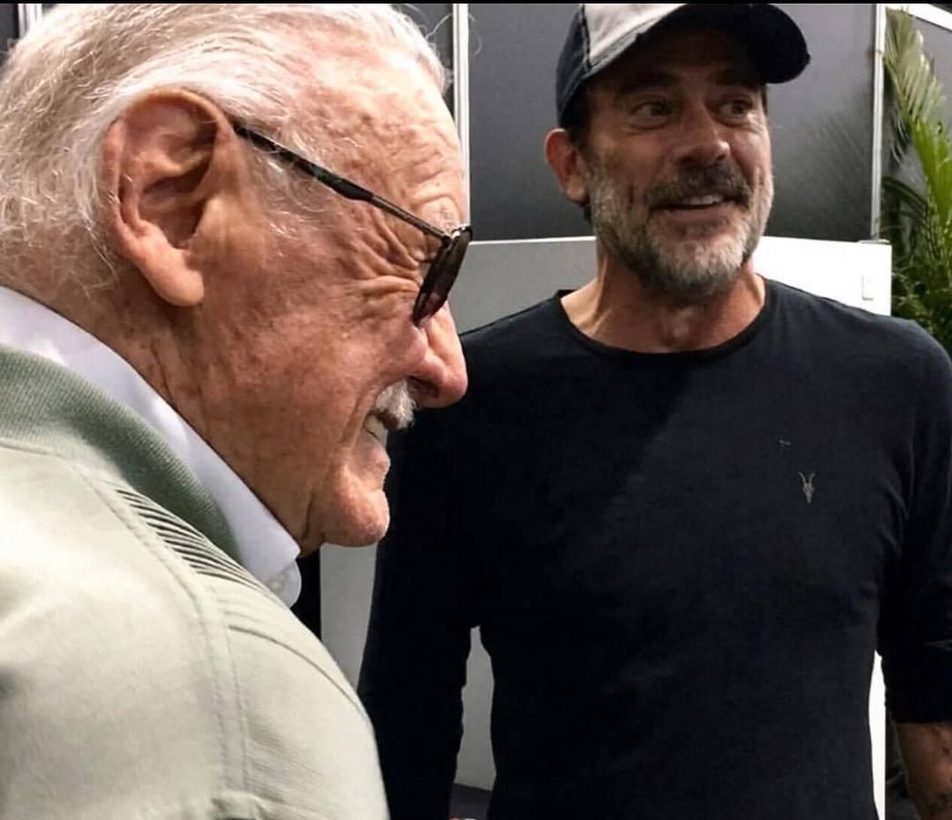 傑佛瑞狄恩摩根亦曾發布和史丹李的合照表達哀悼。圖/摘自Instagram