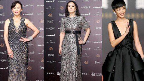 第55屆金馬獎紅毯可以說是洋溢著一股濃濃的奢華貴氣,女星們偏好金光閃閃又貼身的禮服,但無論從禮服顏色或是材質種類依然非常豐富,似乎也在呼應著入圍電影的多元類型。亮片、立體裝飾、耀眼光澤是本屆女星最愛...