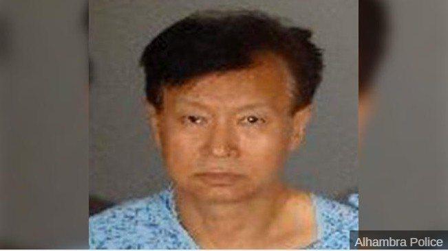 槍殺「僑報」董事長的兇嫌陳忠啟。美國警方提供