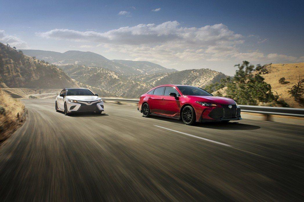 Toyota在洛杉磯展前提前公佈Camry TRD與Avalon TRD的相關資...