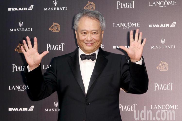 第55屆金馬獎,金馬執委會主席李安走星光大道。