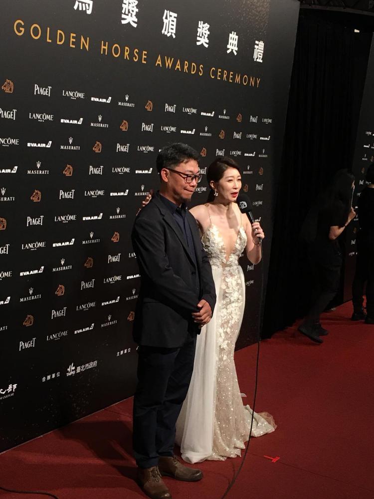 黃嘉千表示她就是要穿得很美就對了。圖/記者吳曉涵攝影