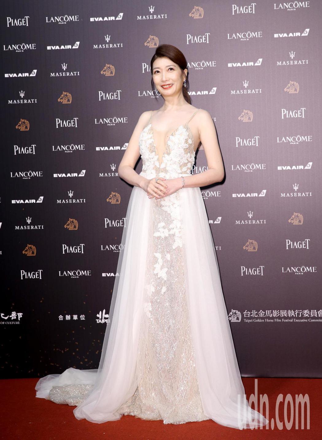 第55屆金馬獎,黃嘉千走星光大道。記者鄭清元/攝影