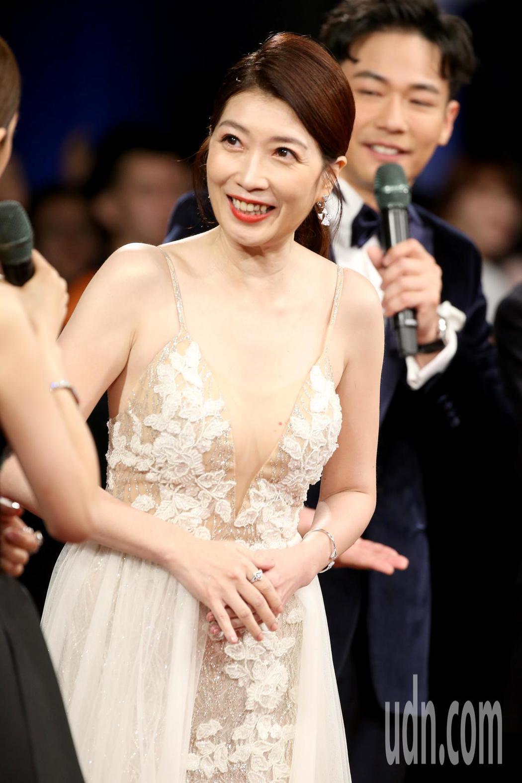 第55屆金馬獎,黃嘉千走星光大道。記者陳立凱/攝影