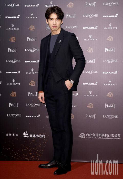 第55屆金馬獎,傅孟柏走星光大道。