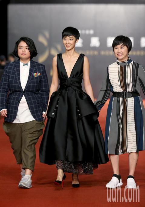 第55屆金馬獎,桂綸鎂走星光大道。