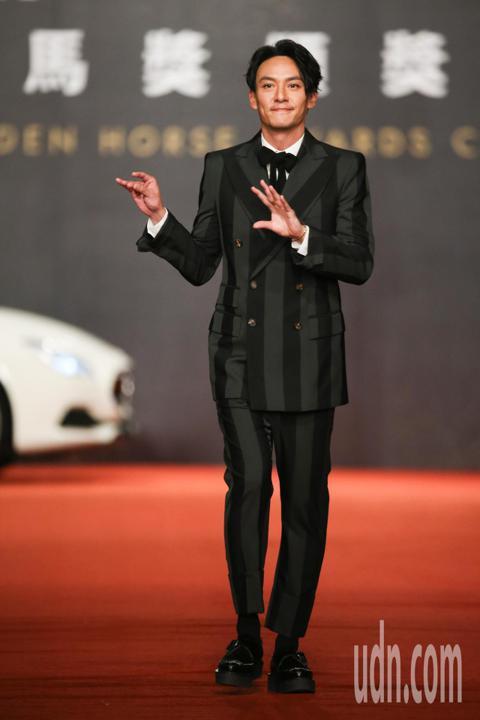 第55屆金馬獎頒獎典禮在國父紀念館舉行,張震走星光大道。