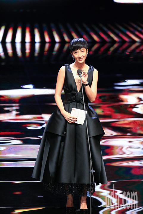 第55屆金馬獎頒獎典禮,頒獎人桂綸鎂。