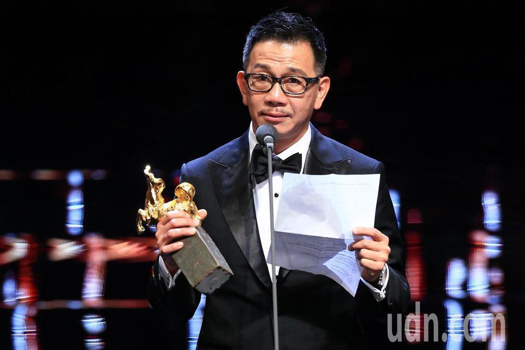 第55屆金馬獎頒獎典禮,袁富華獲最佳男配角。記者林伯東/攝影