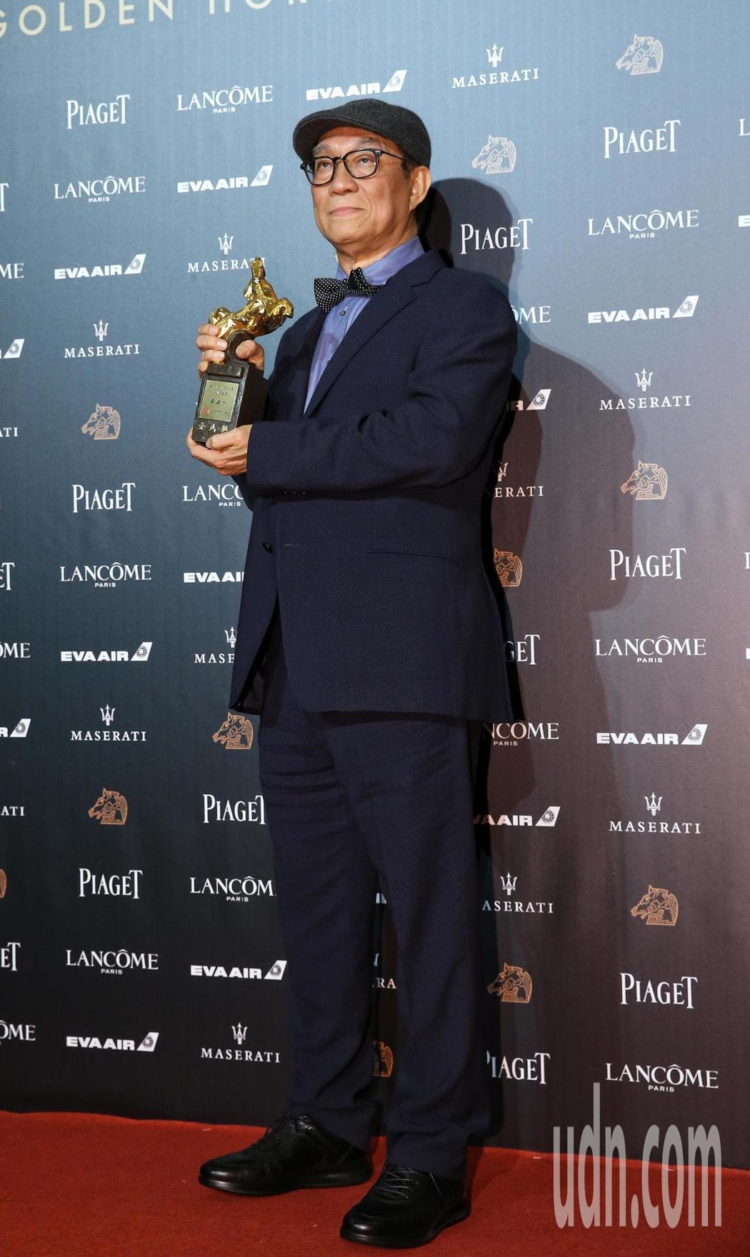 第55屆金馬獎,廖慶松獲頒特別貢獻獎。記者鄭清元/攝影