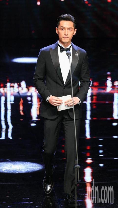 第55屆金馬獎頒獎典禮,頒獎人胡歌。