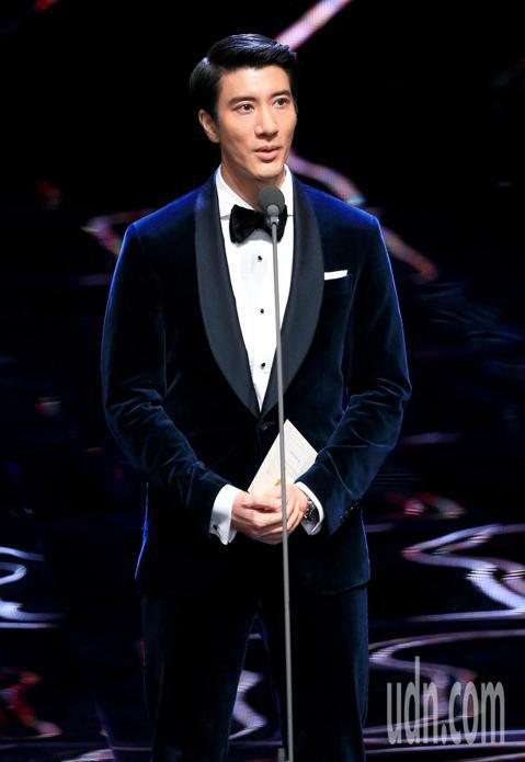 第55屆金馬獎頒獎典禮,王力宏擔任頒獎人。