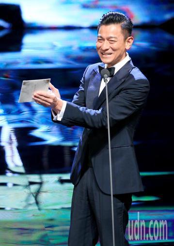 第55屆金馬獎頒獎典禮,劉德華擔任頒獎人。