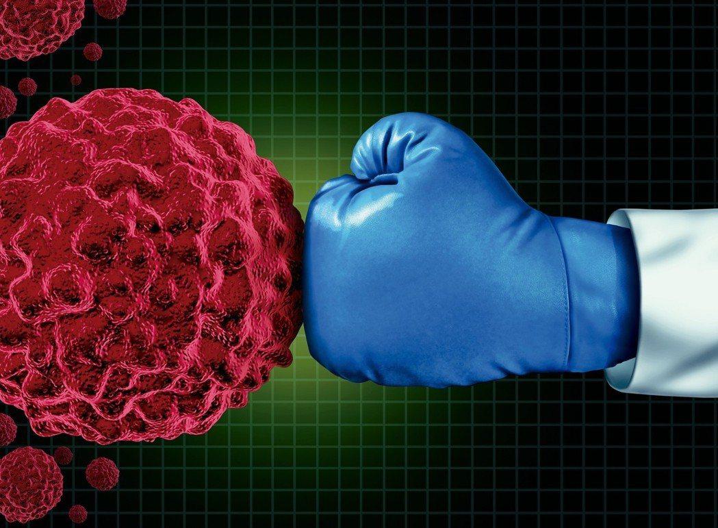 對抗癌症示意圖。圖/123RF