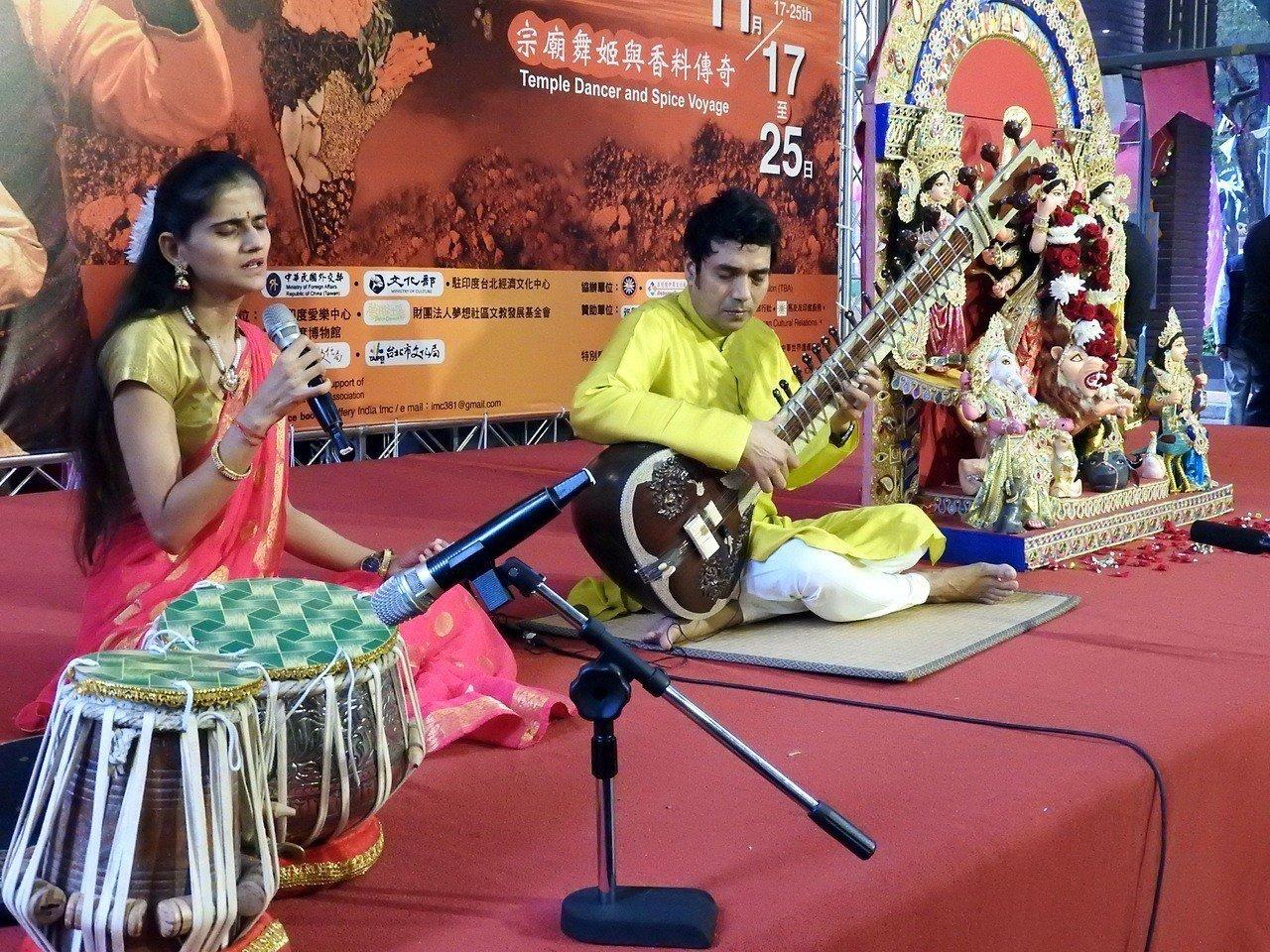 2018亞洲印度文化節規畫有多場印度歌舞文化展演。記者祁容玉/攝影