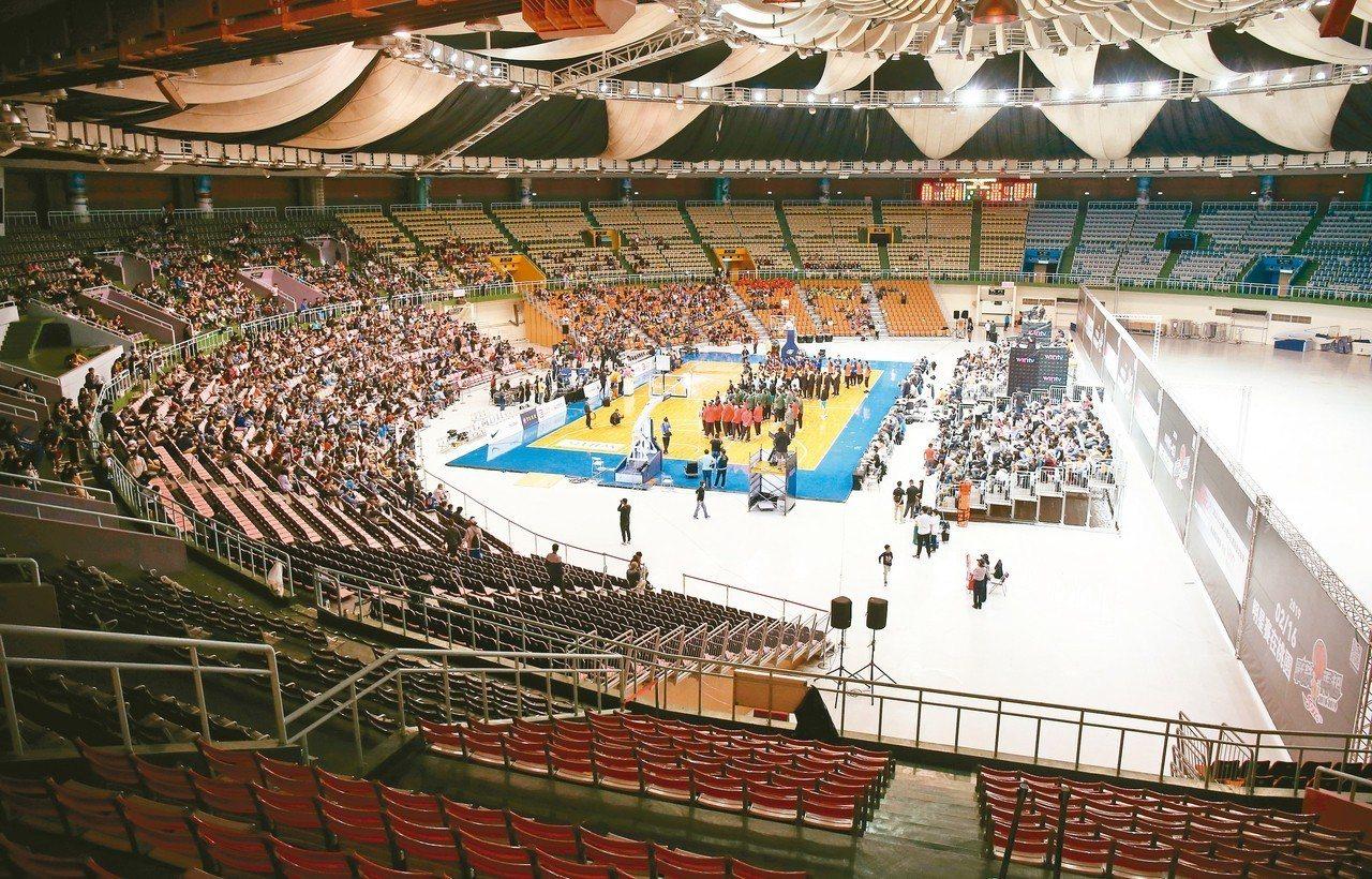 SBL開幕戰在桃園巨蛋登場。 圖/中華籃球協會提供