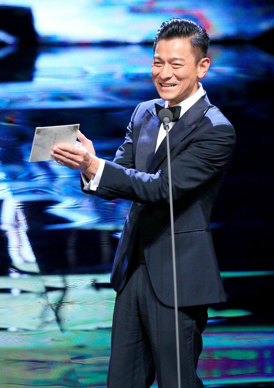 第55屆金馬獎頒獎典禮,劉德華擔任頒獎人。記者林伯東/攝影