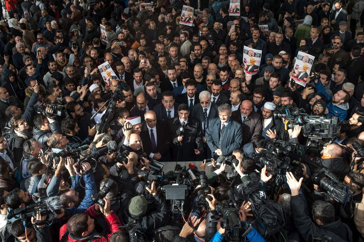 哈紹吉的象徵性告別式十六日在沙國聖城麥加、麥地那和土耳其伊斯坦堡舉行,BBC說,...