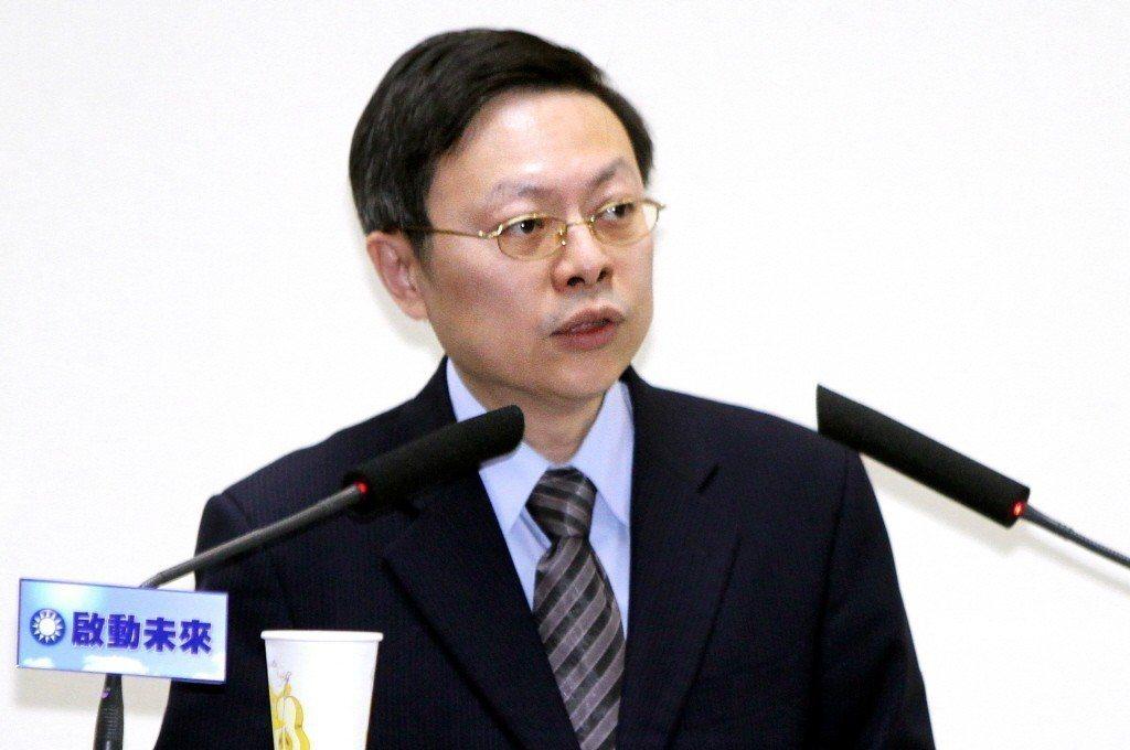 陸委會前主委王郁琦。 圖/聯合報系資料照片