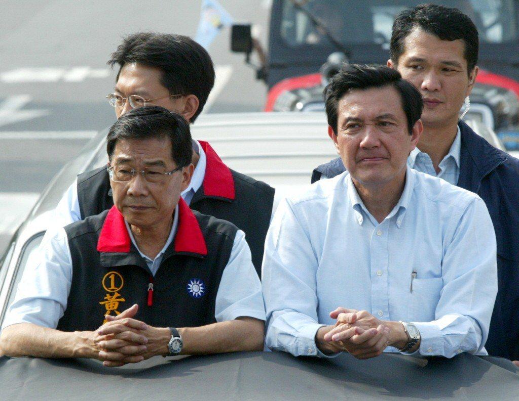 2006年12月10日,高雄市長候選人黃俊英以些微差距落選,他與國民黨主席馬英九...