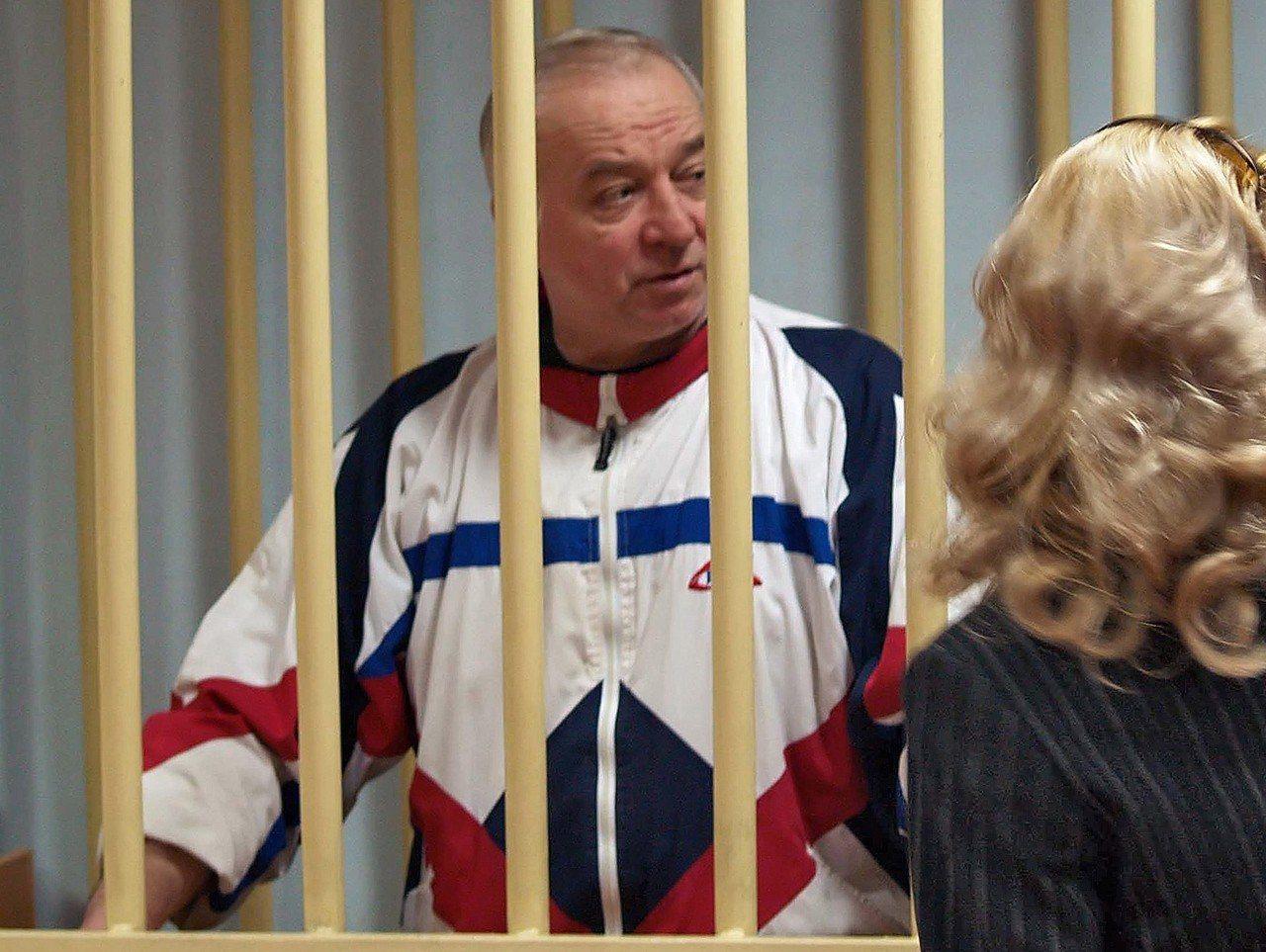 俄國雙面諜史柯里帕今年3月遭下毒,住院月餘總算撿回一命,圖為他2006年在俄國出...
