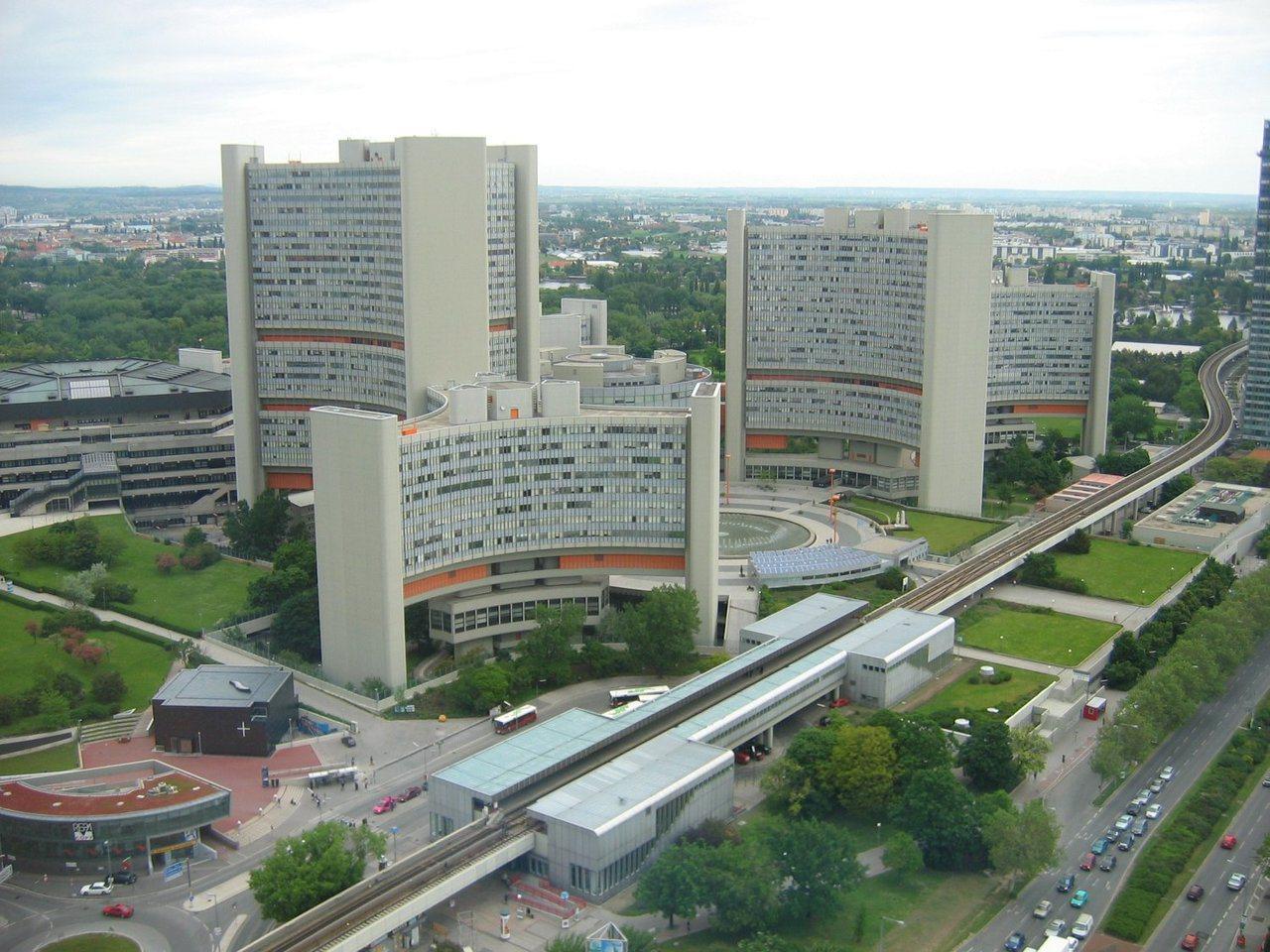 聯合國維也納辦事處。圖/取自維基百科