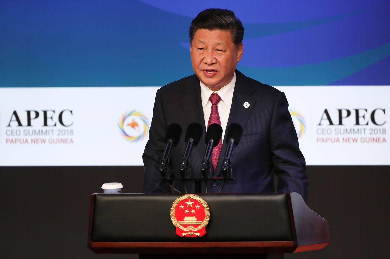 習近平不甘示弱,訴諸「自力更生」的民族主義情緒,宣稱「中國的今天是中國人民自己幹...