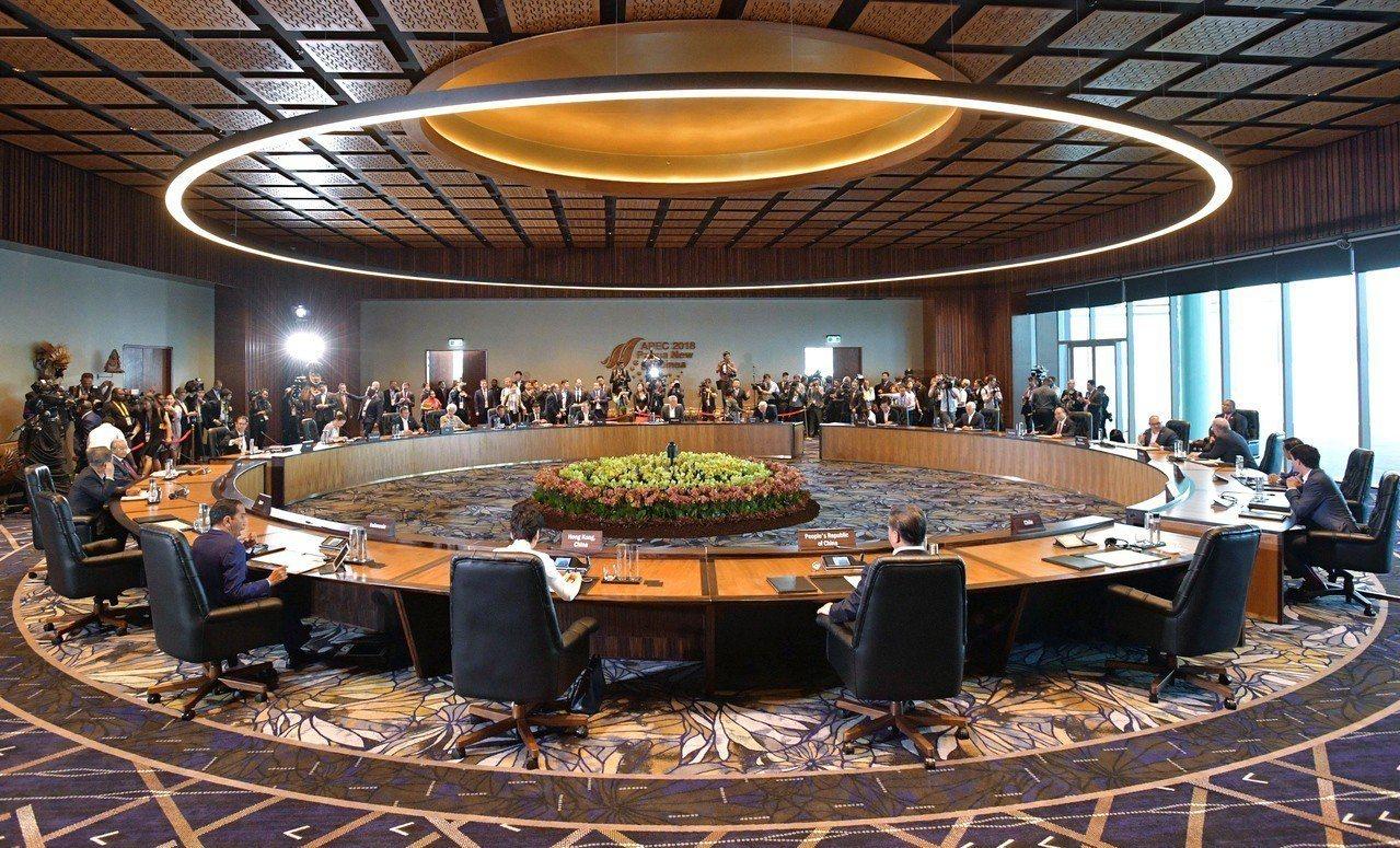 亞太經濟合作會議(APEC)高峰會在巴布亞紐幾內亞首都莫士比港登場。 歐新社