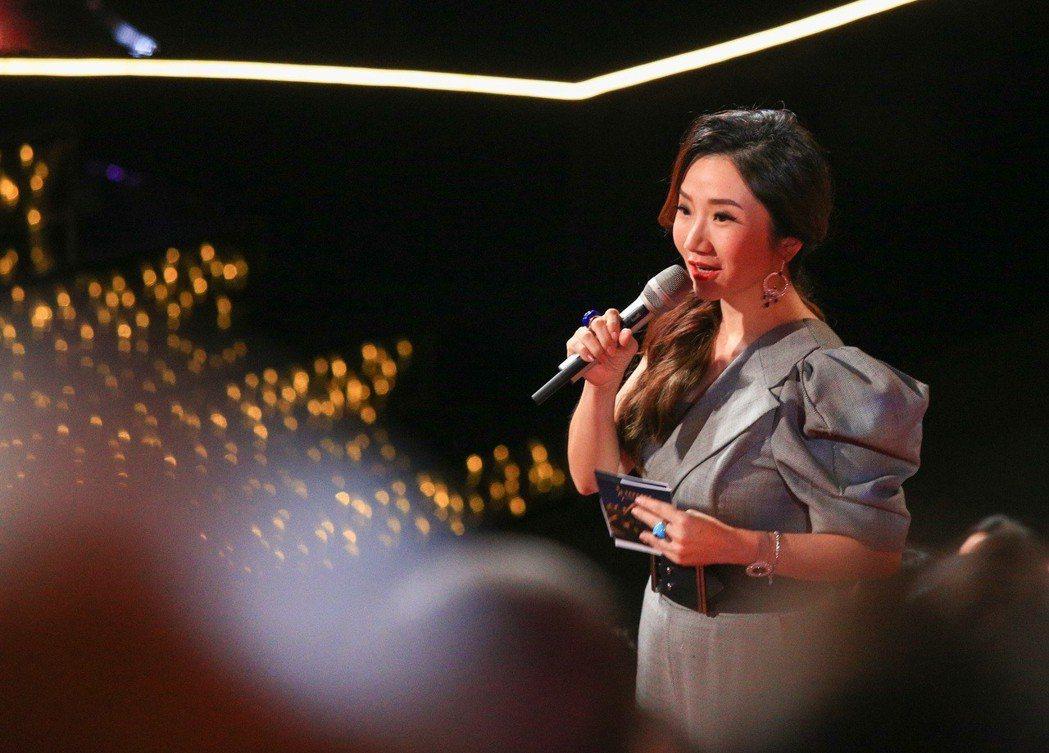 金馬獎主持人陶晶瑩。 記者林伯東/攝影